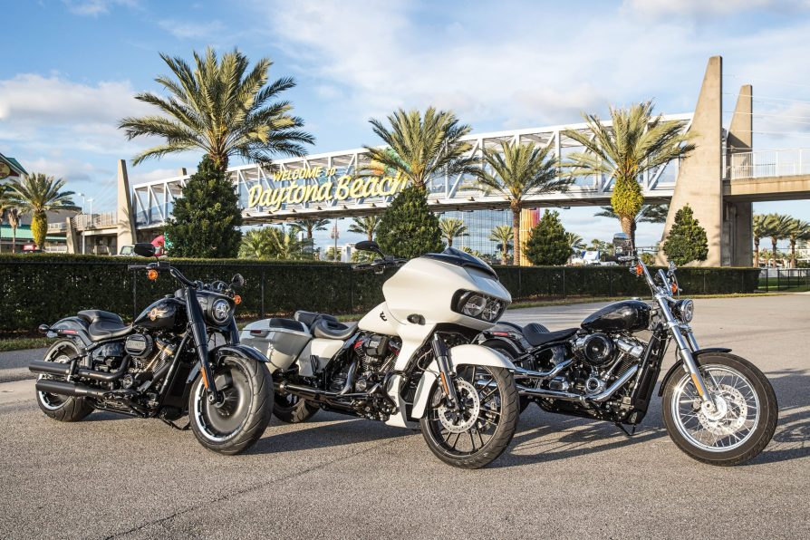 The 30th Anniversary Fat Boy, CVO Road Glide and Softail Standard comprise Harley's 2020 mid-year lineup.