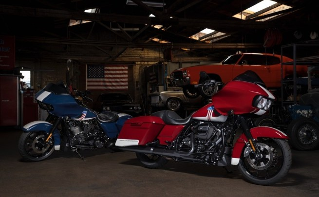 Harley-Davidson Road Glide Special two-tone paint