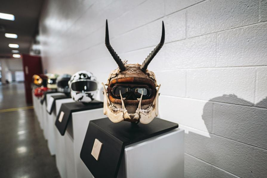 The 21 Helmet Show has been part of The One's programming for eight years and now showcases the work of youth artists. The most voted upon youth helmet won the See See Scholarship, and this year's winner was Rylie Stewart from Medford, OR.