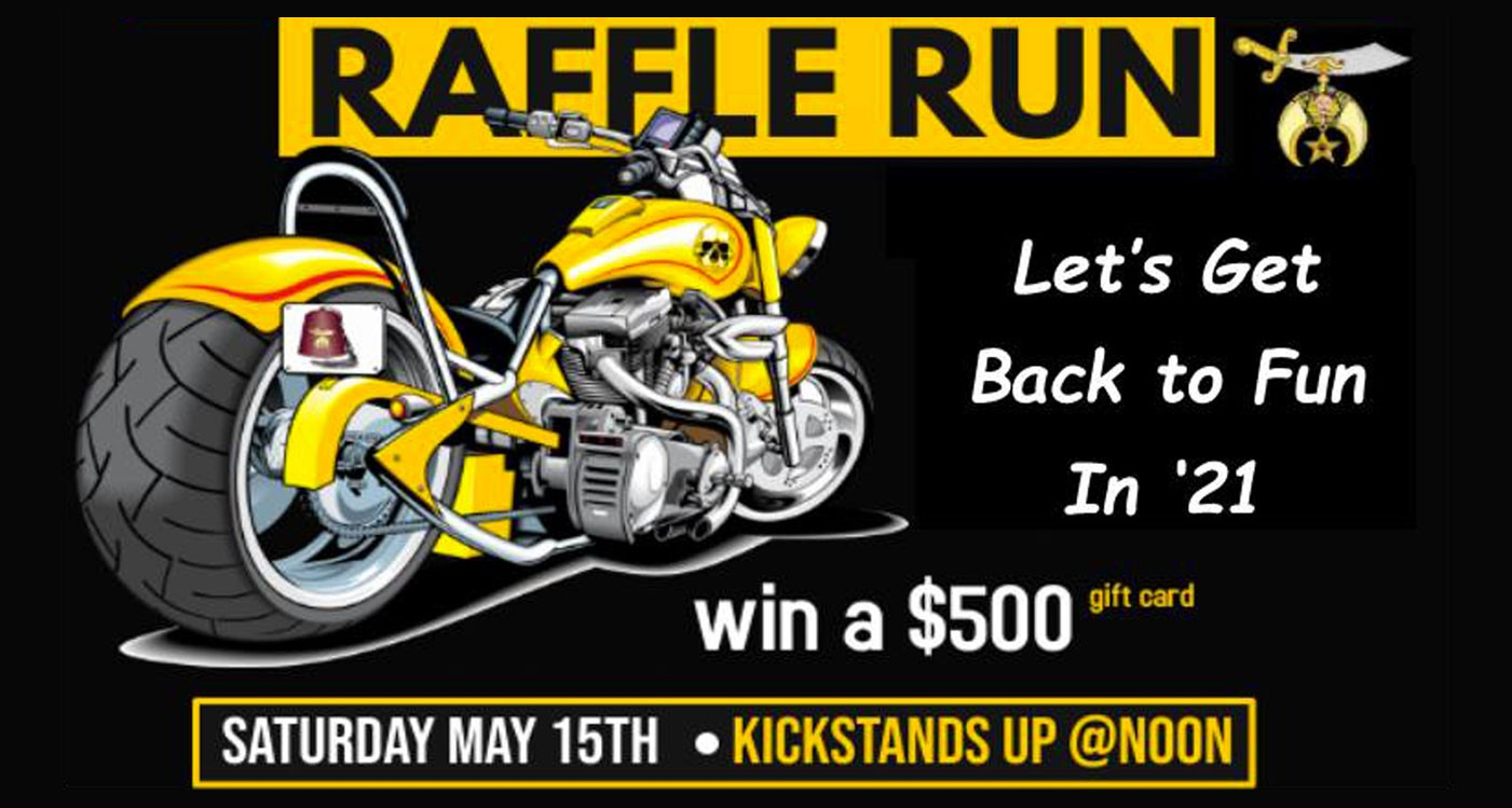 Events Abdallah Shriners - Ride for a Noble Cause Raffle Run