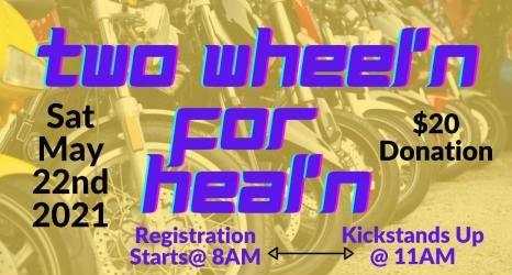 Two Wheel'n for Heal'n