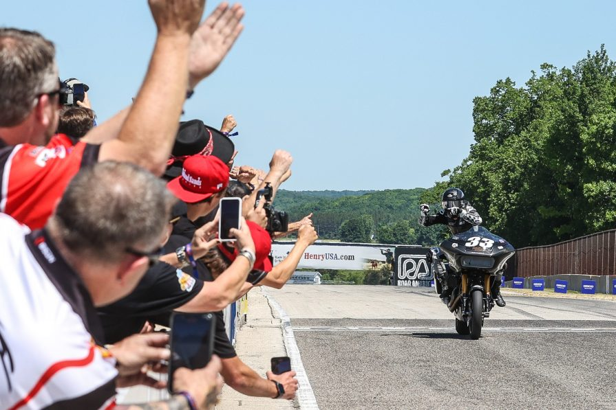 Harley-Davidson Claims First King Of The Baggers Victory