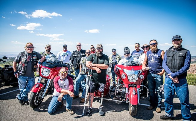 Indian Motorcycle and Veteran's Charity Ride Mark 7th Annual motorcycle Therapy Adventure to Sturgis