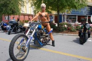 Beauty and brawn on display at the Best of the Beach Bike Show at Pier Park