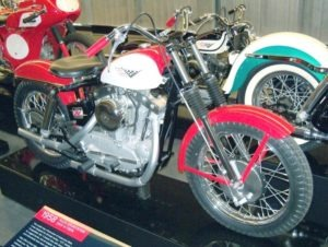 Any resemblance my bike bore to this early XLCH was purely intentional on my part. This is the essential, elemental motorcycle, and in its day was a jet!