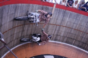 Cody and Kyle Ives tame the Wall of Death