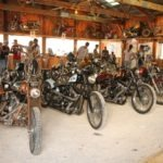 The Night-Time Chopper Show at Sickies Garage featured some stunning old—and new—iron