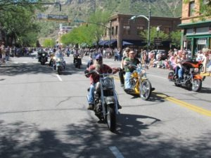 Downtown Durango was packed with paraders