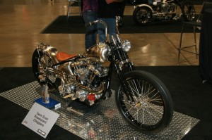 Yaniv Evan's radical custom took top honors at this year's prestigious Artistry in Iron Master Builders Championship