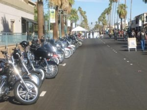 Iron lined the streets of Palm Springs during American Heat 2012