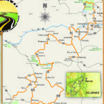 Touring the Colorado High Country - Route Map