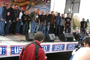 Hollywood stars and industry icons come out in full support for the USO at the Love Ride