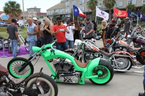 Saturday's All-Star Round Up bike show was packed with more than 90 entries