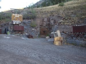 The Hard Tack Mine on the Alpine Loop