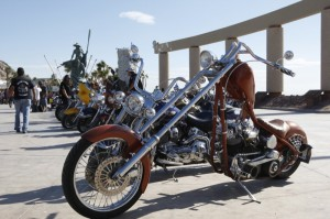 Every ilk of motorcycle found its way down to the malecón during the Rocky Point Rally's fiesta frenzy