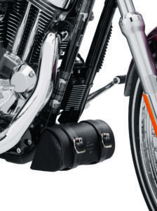 Harley-Davidson Leather Down-Tube Bag