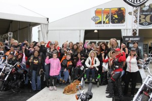The threat of rain did not deter the 6th annual MDA Women's Ride sponsored by Harley-Davidson