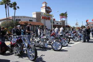 Beach Street had a block-party vibe during the Harley-Davidson Ride-In Bike Show on Wednesday
