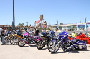 Baggers abounded at the Rat's Hole Bike Show at the Daytona Lagoon