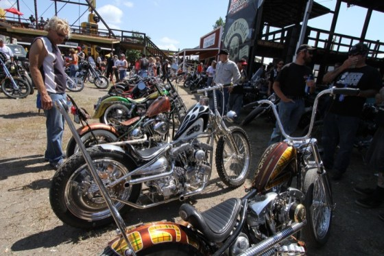 The Horse Ride-in Bike Show always brings out some cool chops