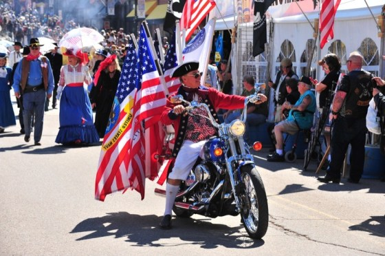 21st annual Salute to American Veterans Rally