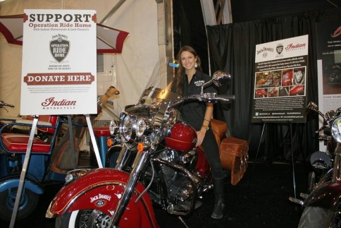 2014 Indian Chief Vintage is set for auction on January 18th to benefit Jack Daniel's Operation Ride Home program