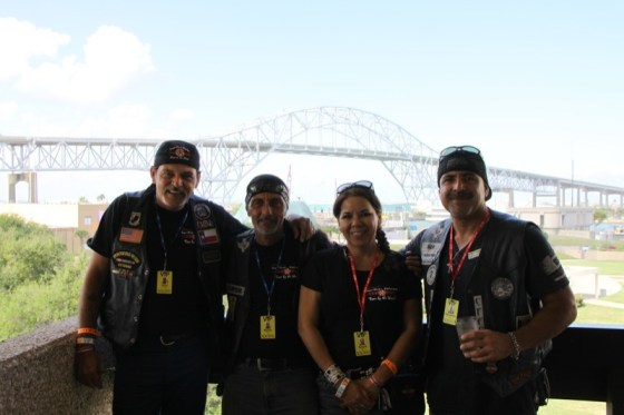 Those who splurged for the VIP Experience also had a great view of the Harbor Bridge in the background
