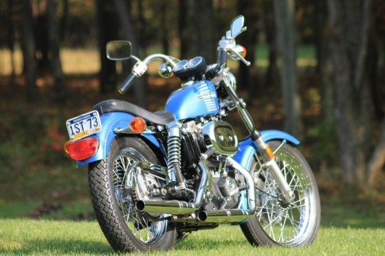 The first Harley-Davidson motorcycle ever assembled at the York, PA, plant was this Sportster