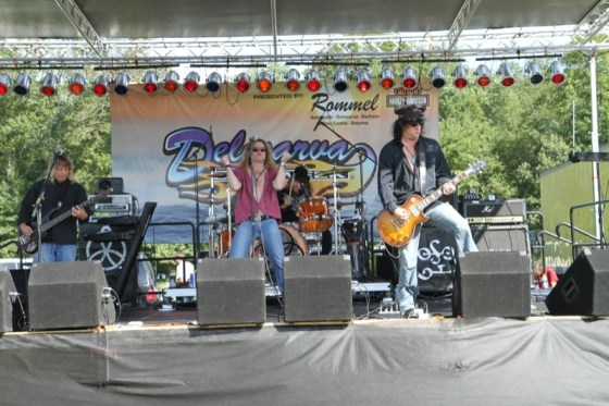 Kashmir, a Led Zeppelin tribute band, was a crowd favorite at Winter Place Park