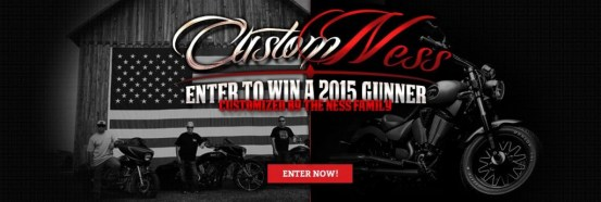 Victory Motorcycles Custom Ness Sweepstakes