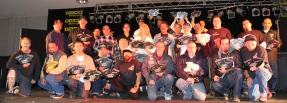 Winners for the 2014 Easyriders Bike Show