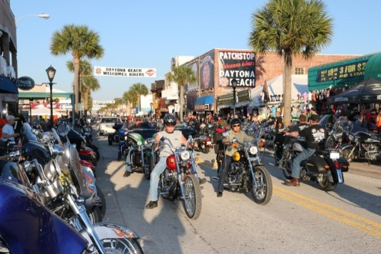 73rd annual Daytona Bike Week - Main Street