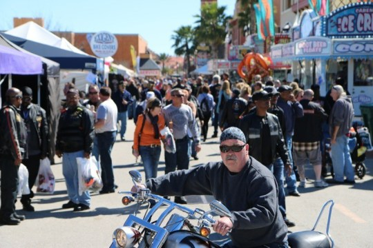Destination Daytona is always packed during Daytona Bike Week