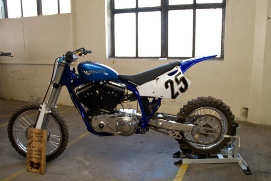 Dan and Louie Lauters' AMA hill climber powered by a 1590cc Evo Big Twin