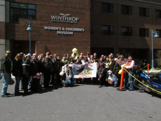 3rd Annual Easter Basket Ride in New York.