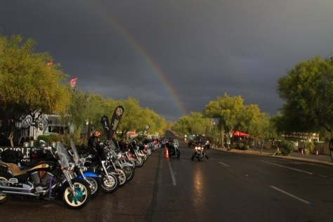 Wednesday brought some rain to Cave Creek