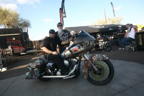 Best Paint was awarded to Robert Ehardt of 303 Studios for his 2005 Road Glide