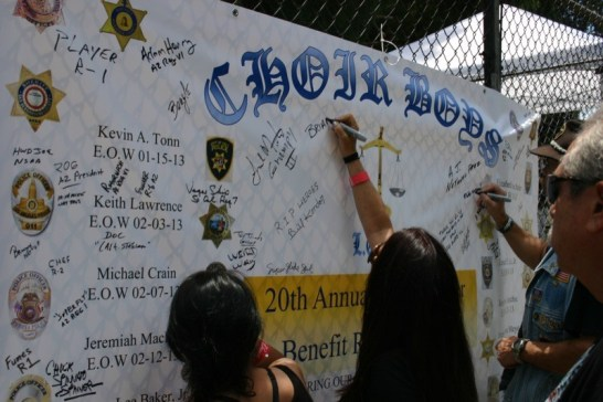 20th annual Fallen Officers Benefit