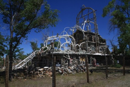 Anyone traveling from Reno to Winnemucca has most likely noticed the Thunder Mountain monument alongside Interstate 80