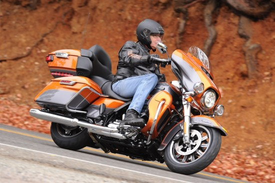 The all-new 2015 Electra Glide Ultra Classic Low targets the inseam-challenged