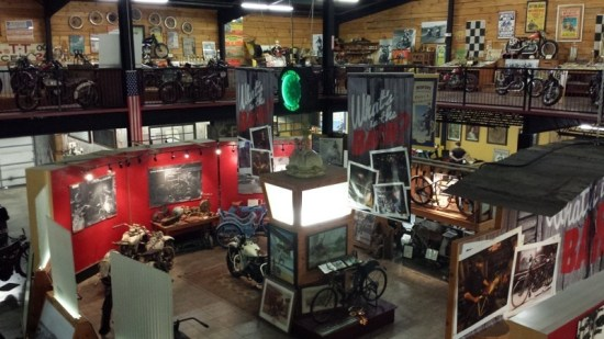 The Wheels Through Time Museum features over 300 vintage motorcycles and an abundance of memorabilia