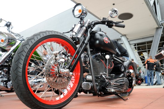 2011, Harley-Davidson Museum, Custom Bike Show, Ride In show, 111908