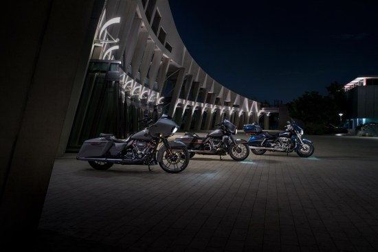 2018 CVO Touring family