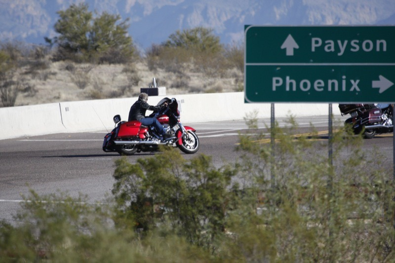 Riders head for the cool country when the valley heats up