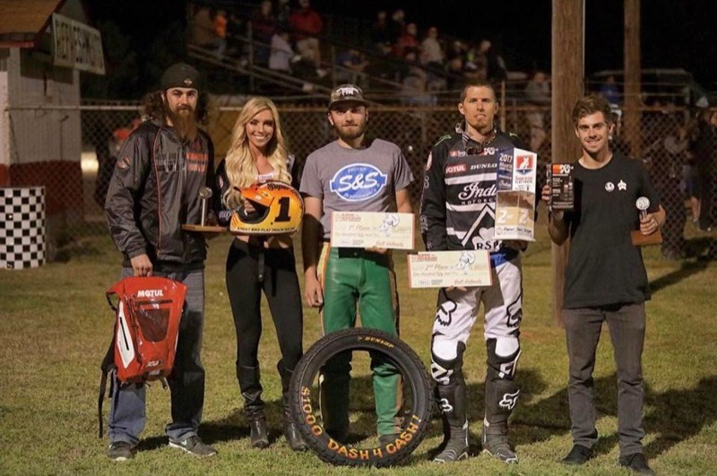 The Hooligan: First race, first podium!