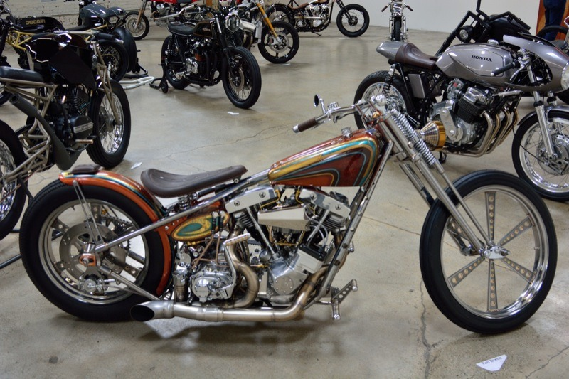 Tim Dixon's beautiful shovelhead was one of the finest example of a hand-built bike; even the wheels were machined by Tim