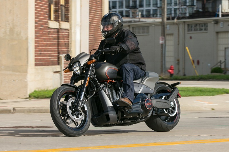 My new favorite Harley-Davidson, the 2019 FXDR… I can make room in the shop no problem MoCo