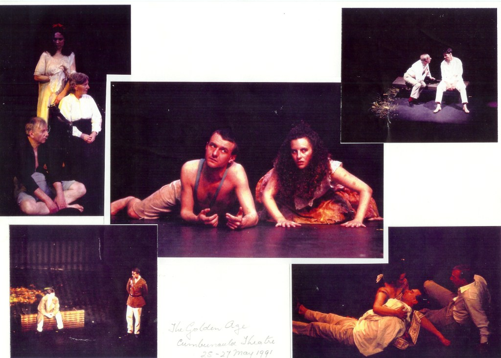 The Golden Age, by Louis Nowra. Cumbernauld Theatre, Cumbernauld, Scotland. 1991
