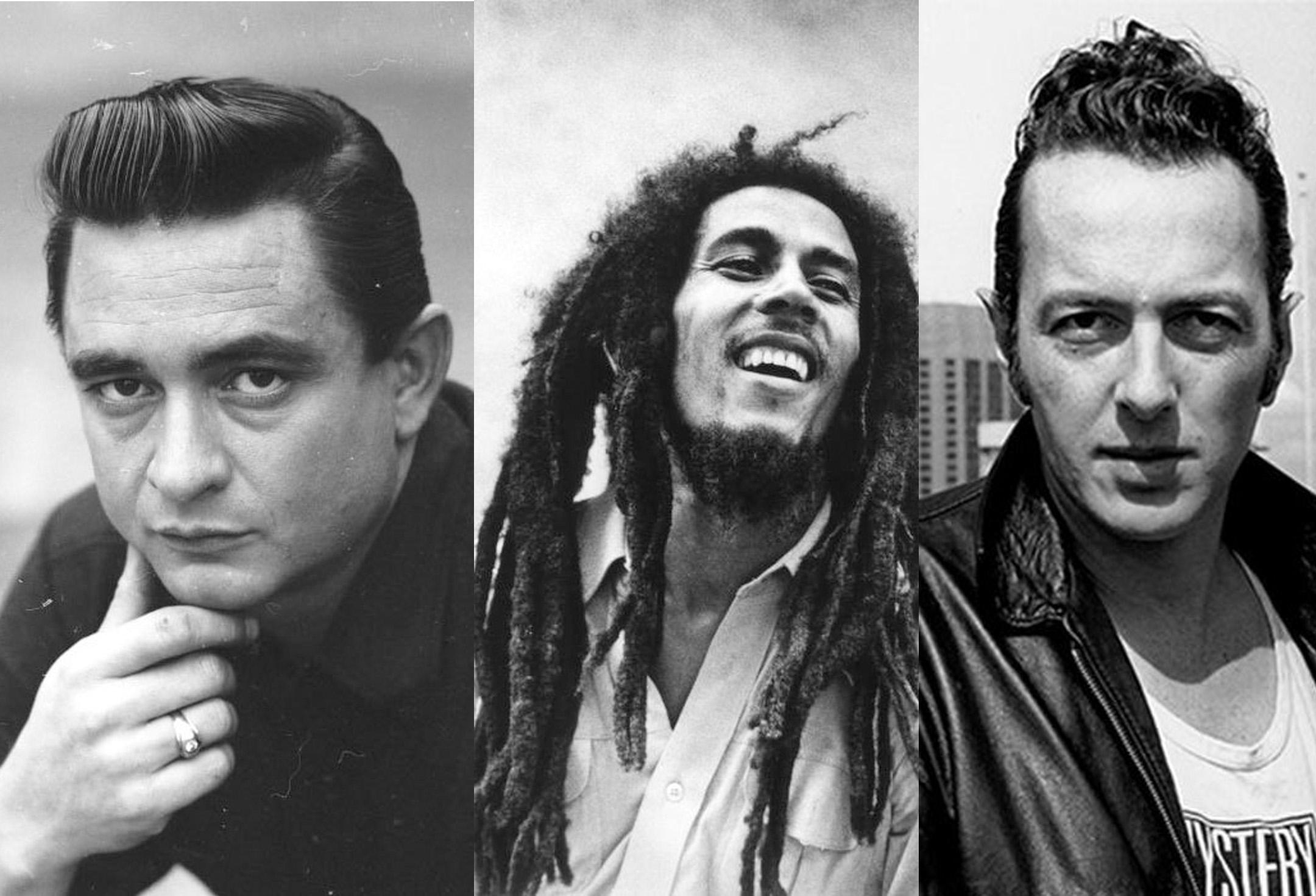 Redemption Song,Bob Marley, Johnny Cash, Joe Strummer