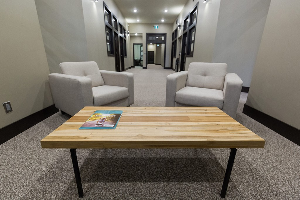 GTP Chartered Professional Accountants - inside the office - waiting area